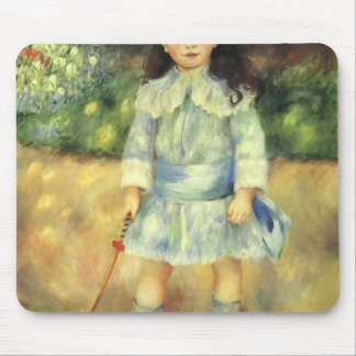 Pierre-Auguste Renoir- Child with a Whip Mouse Pad
