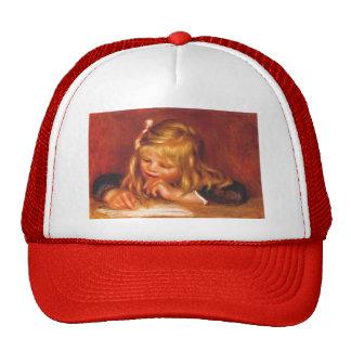 Pierre-Auguste Renoir- Coco Reading Hat