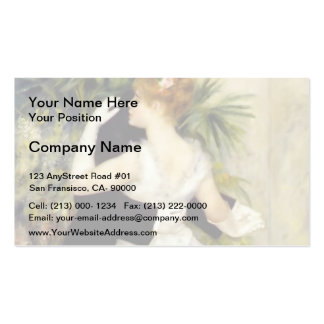 Pierre-Auguste Renoir- Dance in the City Business Card Template