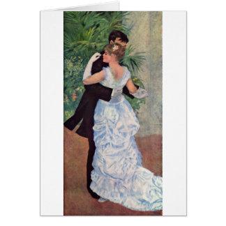Pierre-Auguste Renoir - Danse à la ville (1883) Note Card