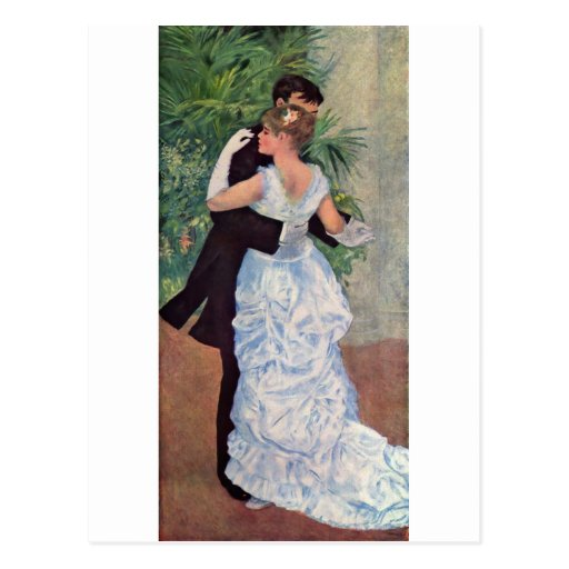 Pierre-Auguste Renoir - Danse à la ville (1883) Postcards