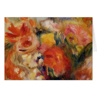 Pierre-Auguste Renoir- Flower Study Greeting Card