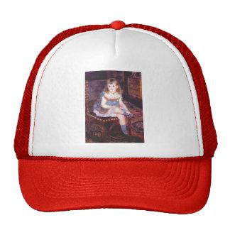 Pierre-Auguste Renoir-Georgette Charpentier Seated Hat