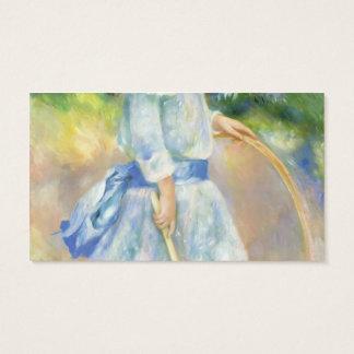 Pierre-Auguste Renoir- Girl with a Hoop