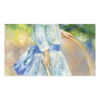 Pierre-Auguste Renoir- Girl with a Hoop Business Card
