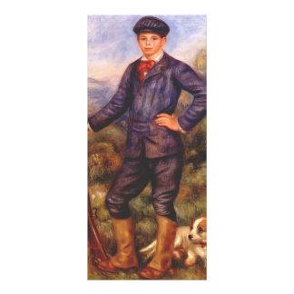 Pierre-Auguste Renoir- Jean Renoir as a Hunter Rack Card Template