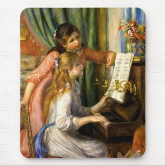 Pierre-Auguste Renoir - Jeunes Filles au Piano Mouse Pad