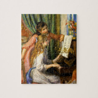 Pierre-Auguste Renoir - Jeunes Filles au Piano Jigsaw Puzzles