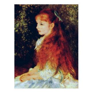 Pierre-Auguste Renoir- Mlle Irene Cahen d'Anvers Post Cards