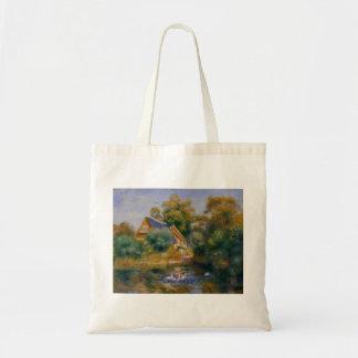 Pierre-Auguste Renoir- Mother Goose Tote Bag