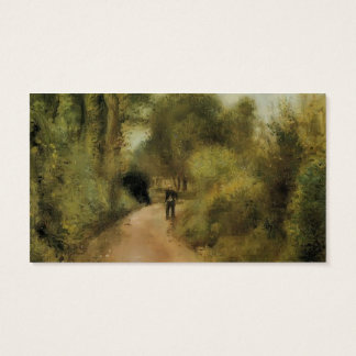 Pierre-Auguste Renoir- On the Path Business Card