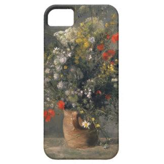 Pierre Auguste Renoir Painting, Flowers In A Vase iPhone 5 Covers