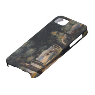 Pierre-Auguste Renoir-Pine Wood on the Cote d Azur iPhone 5 Covers