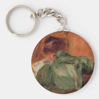 Pierre-Auguste Renoir- Reader in Green Key Chains