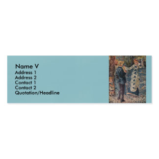 Pierre-Auguste Renoir s The Swing 1876 Business Card Templates