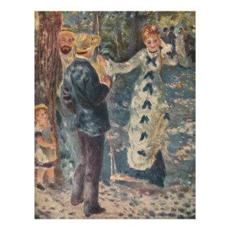 Pierre-Auguste Renoir s The Swing 1876 Personalized Flyer