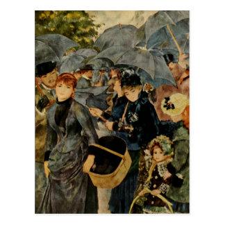 Pierre-Auguste Renoir s The Umbrellas 1883 Postcards