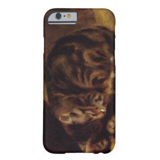 Pierre-Auguste Renoir- Sleeping Cat iPhone 6 Case