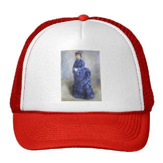 Pierre-Auguste Renoir- The Blue Lady Cap