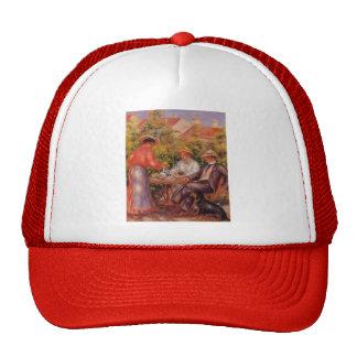 Pierre-Auguste Renoir- The Cup of Tea Mesh Hat