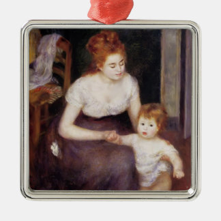 Pierre-Auguste Renoir- The First Step Christmas Ornament