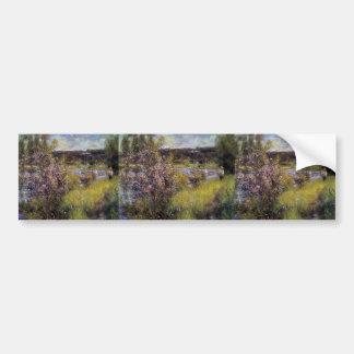 Pierre-Auguste Renoir- The Seine at Chatou Bumper Stickers