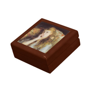 Pierre-Auguste Renoir- The Thinker Keepsake Boxes
