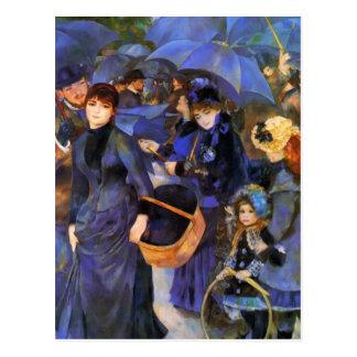Pierre-Auguste Renoir- Umbrellas Postcard