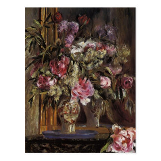 Pierre-Auguste Renoir- Vase of Flowers Postcard