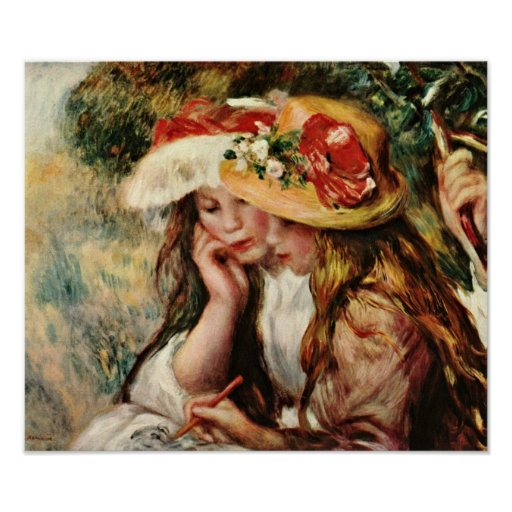 Pierre-Auguste Renoir - Women with young girls Print