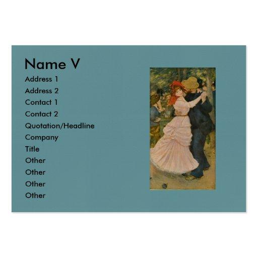 Pierre-Auguste Renoir's Dance at Bougival (1883) Business Card