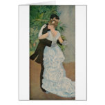 Pierre-Auguste Renoir's Dance in the Town (1883) Greeting Card