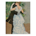 Pierre-Auguste Renoir's Dance in the Town (1883) Post Cards
