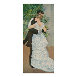 Pierre-Auguste Renoir's Dance in the Town (1883) Rack Card