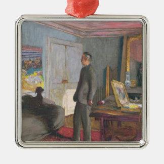 Pierre Bonnard  1935 Silver-Colored Square Decoration