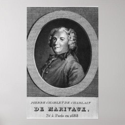 Pierre Carlet de Chamblain, known as Marivaux Print