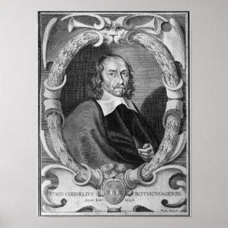 Pierre Corneille  1643 Poster