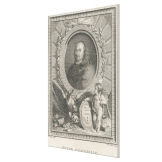 Pierre Corneille  French playwright Canvas Print