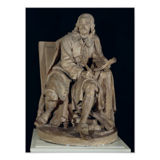 Pierre Corneille  Seated Poster