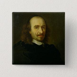 Pierre de Corneille  1647 15 Cm Square Badge