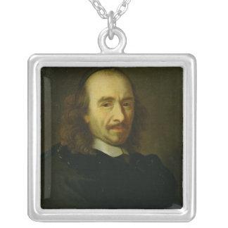 Pierre de Corneille  1647 Silver Plated Necklace