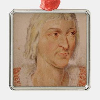 Pierre du Terrail  Chevalier de Bayard Christmas Ornament