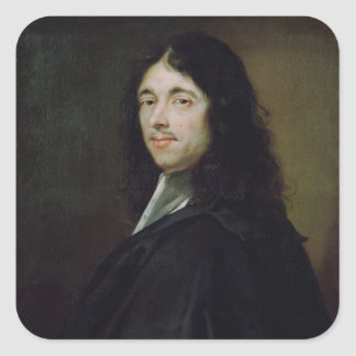 Pierre Fermat Square Sticker