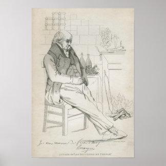 Pierre-Jean de Beranger Poster