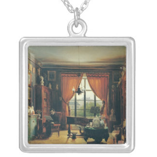Pierre-Joseph-Guillaume Zimmermann Silver Plated Necklace