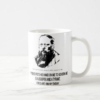 Pierre-Joseph Proudhon Basic White Mug