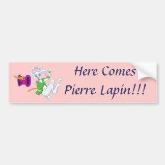 Pierre Lapin Bumper Stickers
