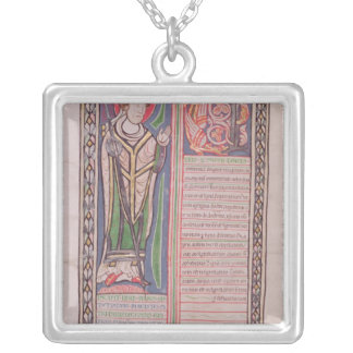 Pierre Lombard Bishop of Paris Silver Plated Necklace