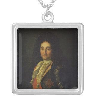 Pierre-Paul de Riquet  Count of Caraman Silver Plated Necklace
