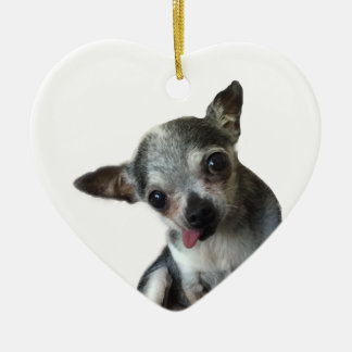 "Pierre ""Pie"" the Chi Christmas Ornament"